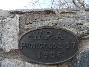Sabino Canyon Roadway was build by the WPA in 1936