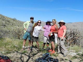Agua Caliente Hikers
